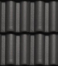 Bramac Římská taška - Ebenově černá
