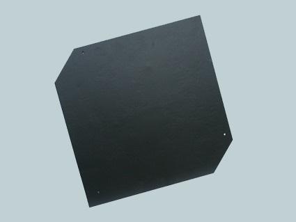 Cembrit - Česká šablona - detail černé krytiny
