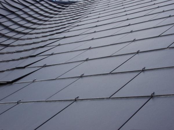 Anglický obdélník - ukázka střechy