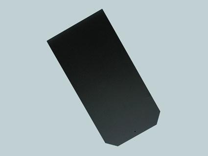 Dánský obdélník - detail černé krytiny