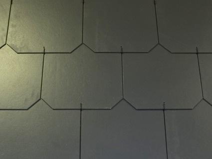 Dánský obdélník - ukázka grafitové střechy
