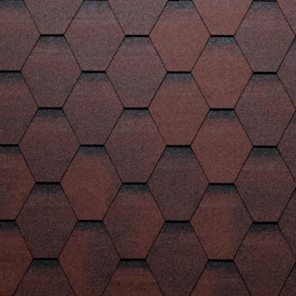 Eco Roof Hexagonal - červená