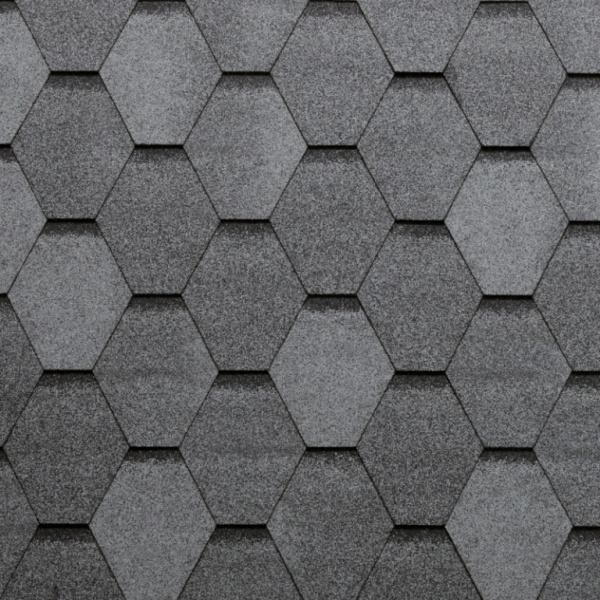 Eco Roof Hexagonal - šedá