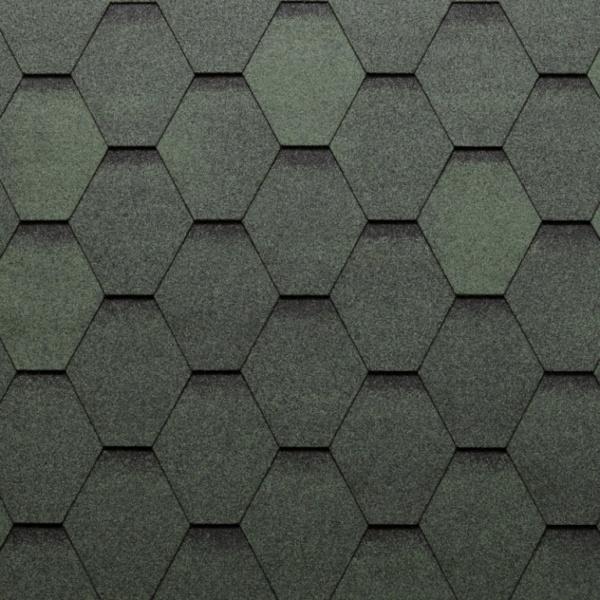 Eco Roof Hexagonal - zelená