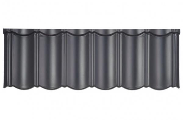 Isola Powertekk Exclusive - detail antracitové černé krytiny