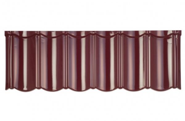 Isola Powertekk Exclusive - detail vínové červené krytiny
