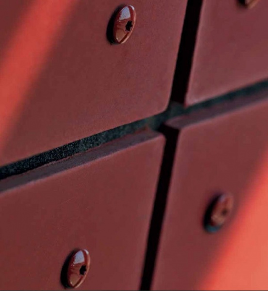 Fasádní desky Cembrit Zenit - detail desky