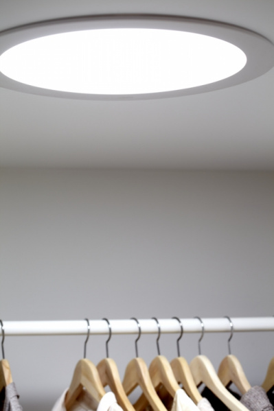 Světlovod VELUX - ukázka realizace