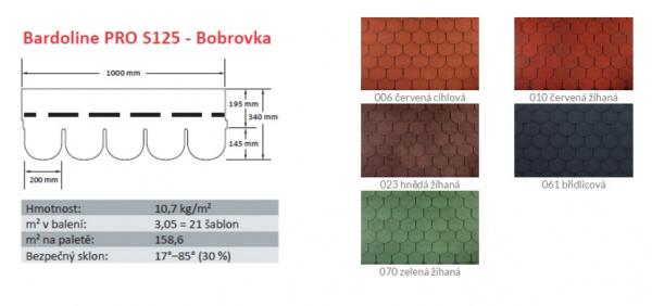 BARDOLINE® PRO S125 Bobrovka