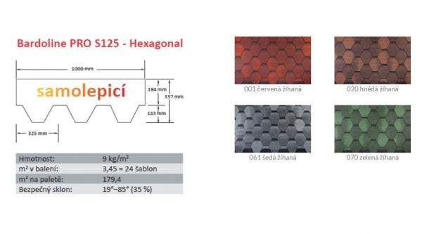 BARDOLINE® PRO S125 Hexagonal