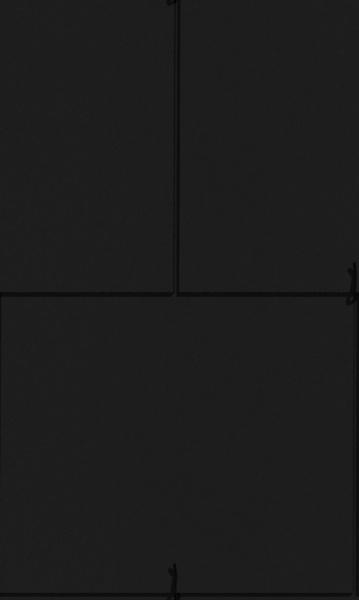 Anglický obdélník - černá
