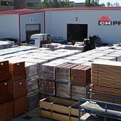 Skladové zásoby střešní krytiny na pobočce PRVNÍ CHODSKÁ