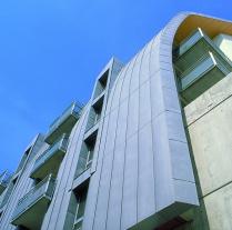 Plechové fasády - VMZINC