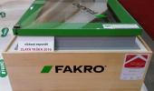Vítězný exponát -  okno do plochých střech typu F firmy FAKRO