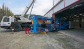 Nová výrobní hala a linka dřevěných konstrukcí v TESARIU
