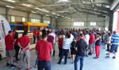 Otevření nové výrobní haly a linky tesařských konstrukcí