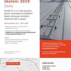 Ruukki - certifikační školení 2019 - ČECHY