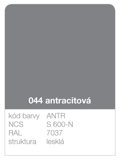 Lindab click - ukázka barvy Premium - antracit