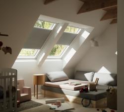 Stínící doplňky VELUX - světelný a tepelný komfort Vašeho domova