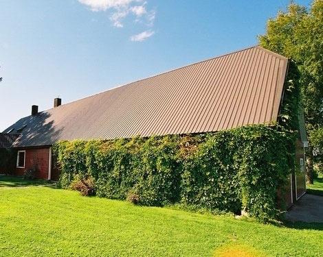 Střecha z vlnitého plechu