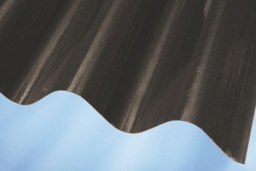 Sklolaminátová střešní krytina